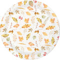 Simply Autumn 8 pk Lunch Plates-Woodland