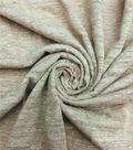 Earth Child Apparel Fabric 58\u0027\u0027-Taupe Slub Knit