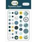Carta Bella Decorative Brads with Cardstock Tags-Rock A Bye Baby Boy