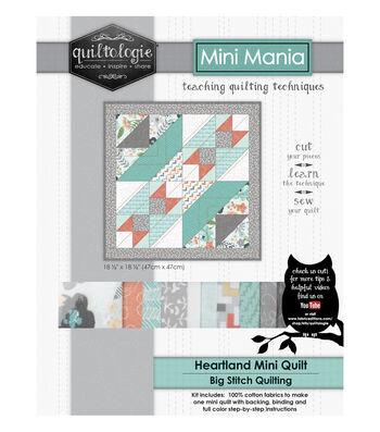 "Quiltologie Mini Mania Quilt Kit 18 1/2""-Heartl&"