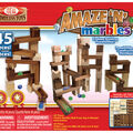 Ideal Amaze 'N' Marbles Classic Wood Construction Set