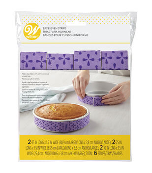 Wilton Bake-Even Strips, 6-Piece