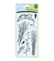 Inkadinkado Clear Stamps-Delicate Branches, , hi-res