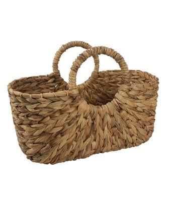 Hello Spring Gardening Woven Garden Basket