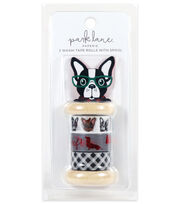 Park Lane Paperie 3 pk Washi Tape Rolls with Spool-Bulldog, , hi-res