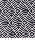 Anti-Pill Plush Fleece Fabric-Black White Home Dec