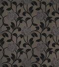 Home Decor 8\u0022x8\u0022 Fabric Swatch-Print Fabric Eaton Square Lloyd Silver