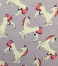 Doodles Juvenile Apparel Fabric 57\u0027\u0027-Jumping Unicorn