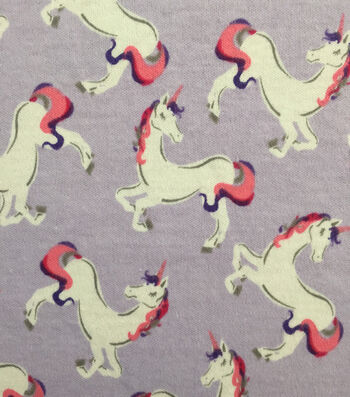 Doodles® Juvenile Apparel Fabric 57''-Jumping Unicorn