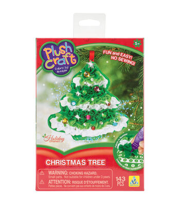 ORB Plush Craft Christmas Tree Ornament Kit
