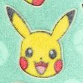 Pokemon Burnout Fleece Fabric-3D Pika
