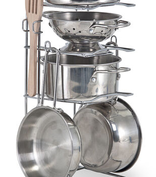 Melissa & Doug Lets Play House Pots And Pans Set