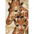 RIOLIS 8.75\u0027\u0027x15\u0027\u0027 Counted Cross Stitch Kit-Giraffe