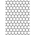 Darice Embossing Folder Background Honeycomb