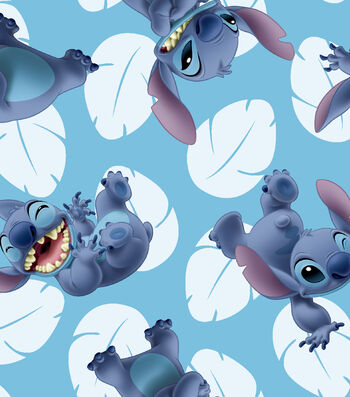 Lilo And Stitch Toss Cotton Fabric