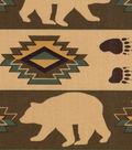 Northwoods Cotton Fabric -Aztec Animals