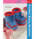 Search Press Books-Knitted Baby Bootees (20 To Make)