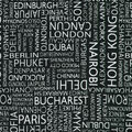 Novelty Cotton Fabric-International Cities