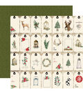 Christmas Double-Sided Cardstock 12\u0022X12\u0022-Gift Tags