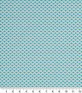 Robert Allen @ Home Print Swatch 55\u0022-Dash Motifs Turquoise
