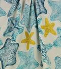 Solarium Outdoor Decor Fabric 54\u0027\u0027-Turquoise Seabiscuit