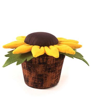 Pin Cushion-Sunflower Pot