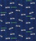 Seattle Seahawks Cotton Fabric -Mini Print