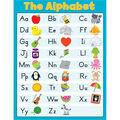 Carson-Dellosa The Alphabet Blue Chart 6pk