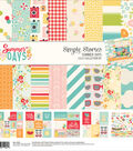 Simple Stories Collection Kit 12\u0022X12\u0022-Summer Days