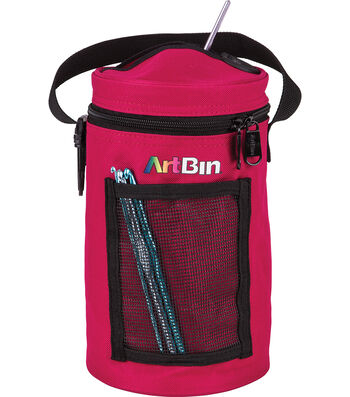 "ArtBin Mini Yarn Drum 5.7""X9.5""-Raspberry"