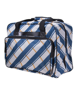 Janome Universal Durable Sewing Machine Tote-Checkered