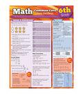 QuickStudy Math Common Core 6th Grade Laminated Study Guide 3pk
