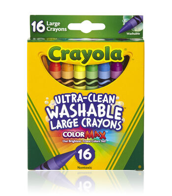 Crayola Growing Kids Large Crayons 16/Pkg Large