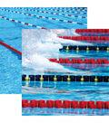Swim Team Double-Sided Cardstock 12\u0022X12\u0022-The Start