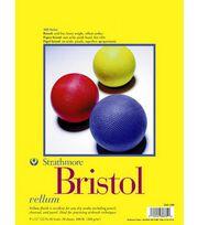 """Strathmore Bristol Vellum 9""""X12"""" Pad, , hi-res"""