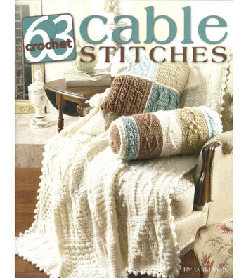 63 Cable Stitches Crochet Book