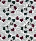 Snuggle Flannel Fabric-Buffalo Check Mittens