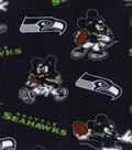 Seattle Seahawks Fleece Fabric-Mickey