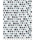 Snuggle Flannel Fabric 42\u0027\u0027-Multi Gray Dots