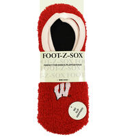 University of Wisconsin Badgers Foot-Z-Sox, , hi-res