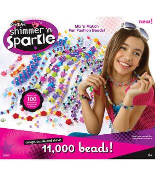Cra-Z-Art Shimmer N Sparkle 11,000 Bead Kit