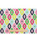 Anti-Pill Fleece Fabric 59\u0022-Boho Aztec