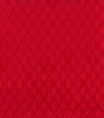 Country Classic Double Faced Quilt Cotton Fabric 42''-Scarlet Diamond