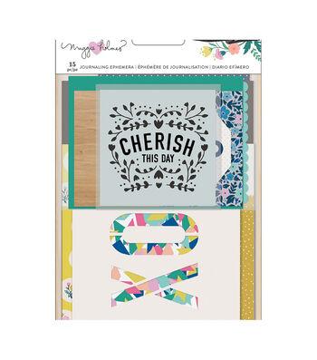 Maggie Holmes Willow Lane Journaling Ephemera 15/Pkg