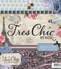 DCWV Paper Stack 12\u0022X12\u0022-Le Tres Chic