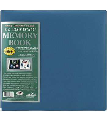 """Pioneer E-Z Load Deluxe 12"""" x12"""" Postbound Albums"""