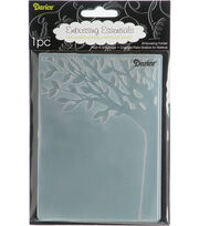 "Embossing Folder 4.25""X5.75""-Leafy Tree Trunk, , hi-res"