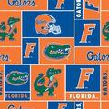 University of Florida Gators Fleece Fabric -Block