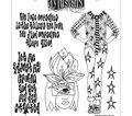 Dyan Reaveley\u0027s Dylusions Cling Stamp Collections 8.5\u0027\u0027X7\u0027\u0027-Let Me Adjus