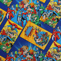 DC Comics Cotton Fabric-Book Covers